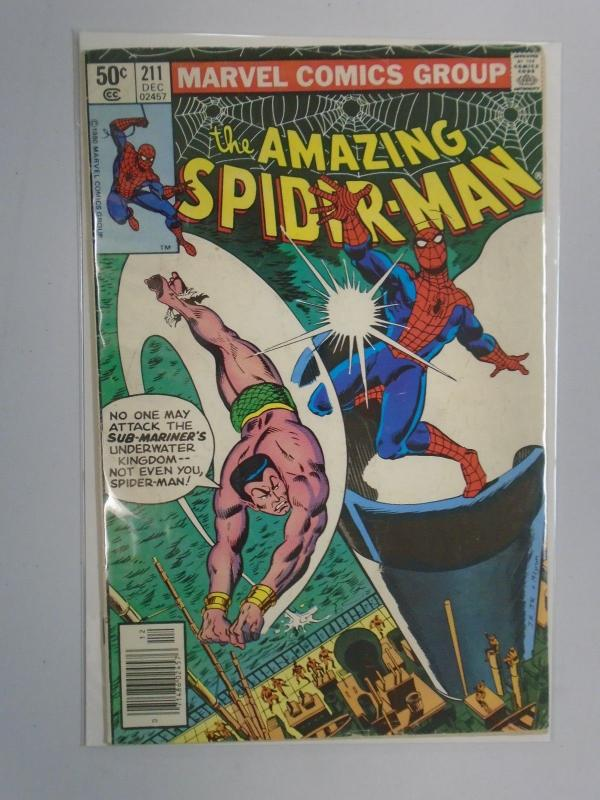 Amazing Spider-Man (1st Series) #211 Newsstand Edition 4.0 (1980)