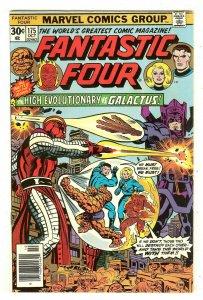Fantastic Four 175   Galactus vs High Evolutionary