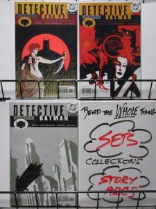 DETECTIVE COMICS (DC,1937) #743-745 VF-NM complete! Greg Rucka