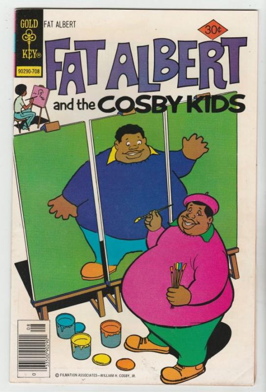 Fat Albert and the Cosby Kids #20 (Aug-77) VF/NM High-Grade Fat Albert, Russe...