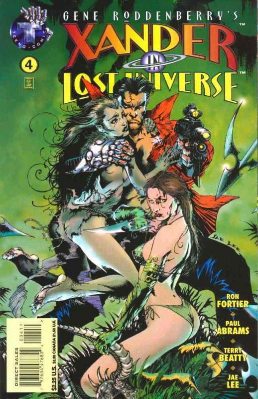 Xander in Lost Universe (Gene Roddenberry's…) #4 VF/NM; Tekno | save on shipping