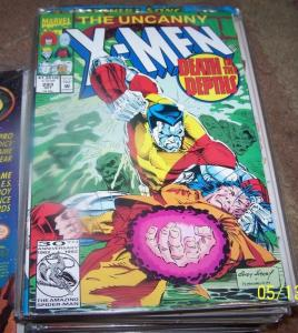 UNCANNY X-MEN #293 1992, Marvel colossus morlocks mikhail bishop
