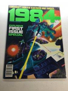 1984 Magazine 1 Nm- Near Mint- Warren