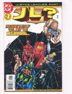 JL? #1 FN DC Comics Comic Book Peyer Superman Batman March 2001 DE37 TW7