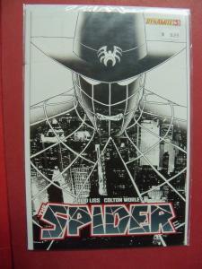 THE SPIDER #3B JOHN CASSADAY  BLACK & WHITE VARIANT COVER (9.0 to 9.4 or better)