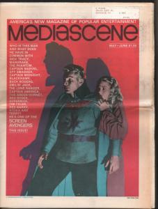 Mediascene #19 1976-Buster Crabbe-Flash Gordon-Capt America-Batman-VF