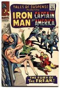 TALES OF SUSPENSE #75 1965-iron man-CAPTAIN AMERICA-SHARON CARTER