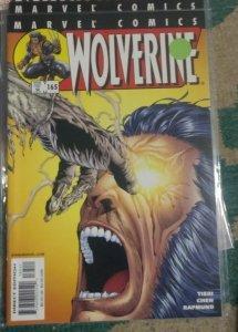 WOLVERINE # 165 2001 marvel   THE HUNTED PT 4