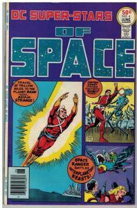 DC SUPER STARS 4 VF June 1976 SUPERSTARS of SPACE