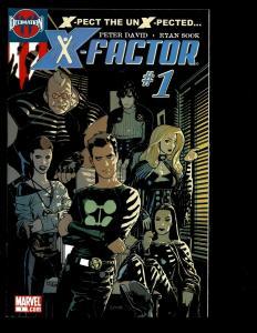 Lot Of 12 X-Factor Marvel Comics # 1 2 3 5 6 7 10 11 13 14 15 16 X-Men Thor EK10