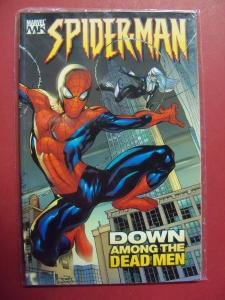 SPIDER-MAN: DOWN AMONG THE DEAD MEN VOL. 1  UNREAD SOFT COVER (9.4 NM)  MARVEL
