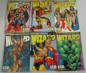Wizard Magazine Lot #81 - 102 (12 Diff) - (1999 - 2000)