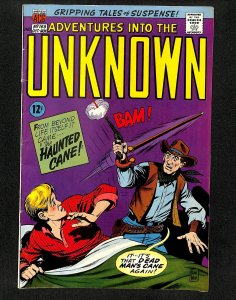 Adventures into the Unknown #168 (1966)
