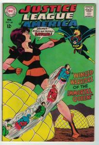 JUSTICE LEAGUE OF AMERICA (1960-1987 DC) 60 F-VF COMICS BOOK
