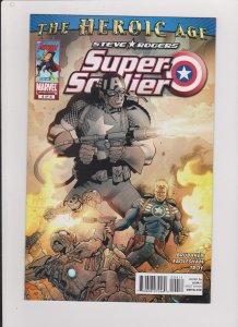 STEVE ROGERS SUPER SOLDIER #4  VF/NM 2010 MARVEL COMICS