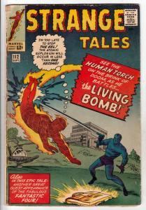 Strange Tales #112 (Sep-63) VG+ Affordable-Grade Human Torch