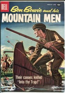 Ben Bowie and His Mountain Men #14 1958-Dell-file copy-outstanding spine-VF/NM