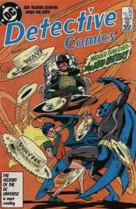 Detective Comics #573 VF/NM; DC | save on shipping - details inside