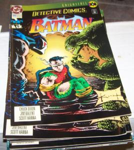 Detective Comics #660 (May 1993, DC) KNIGHTFALL PT 4 KILLER CROC BANE BATMAN