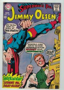 JIMMY OLSEN 109 FINE MARCH 1968