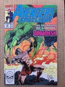 Avengers Spotlight #35 (1990)