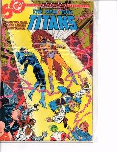 DC Comics New Teen Titans #14 Nightwing, Jericho, Starfire Marv Wolfman Story