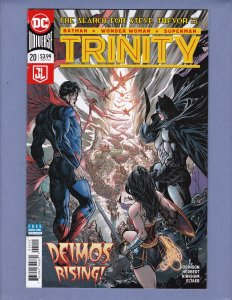 Trinity #18 19 20 21 VG Batman Front/Back Cover Scans DC 2018