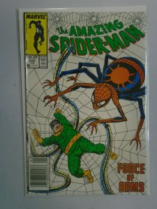 Amazing Spider-Man #296 Force of Arms Newsstand Edition 4.0 VG (1988)