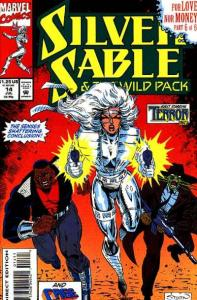 Silver Sable and the Wild Pack #14, NM- (Stock photo)