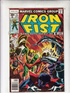 Iron Fist #15 (Sep-77) NM- High-Grade Iron Fist