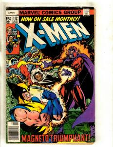 Uncanny X-Men # 112 VG Marvel Comic Book Angel Beast Wolverine Cyclops HY1