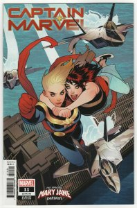 Captain Marvel #11 Torque Mary Jane Variant (Marvel, 2019) NM