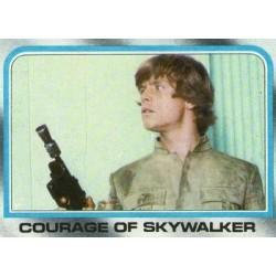 1980 Topps Star Wars The Empire Strikes Back COURAGE OF SKYWALKER #213 EX/MT