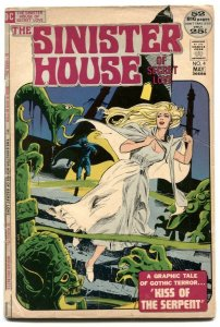 Sinister House Of Secret Love #4 1972- Gothic Horror Romance G/VG