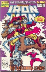 Iron Man (1968 series) Annual #11, VF+ (Stock photo)