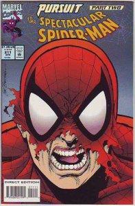 Spider-Man, Peter Parker Spectacular #211 (Apr-94) NM+ Super-High-Grade Spide...