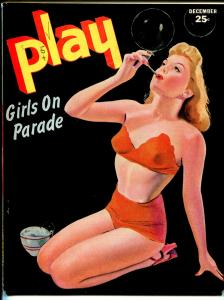 Play Girls On Parade 5/1944-cheesecakeJanes pin-up cover-motor scooter-FN-