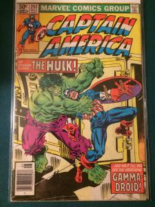 Captain America #257 In London lurks the Hulk!
