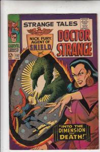 Strange Tales #152 (Jan-67) FN+ Mid-High-Grade Nick Fury, Dr. Strange