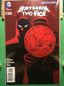 Batman and Robin/Two-Face #25 The New 52