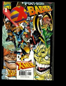 10 Marvel Comics X-Babies # 1 Gambit 10 11 12 X-Men Unlimited 31 37 +MORE J338