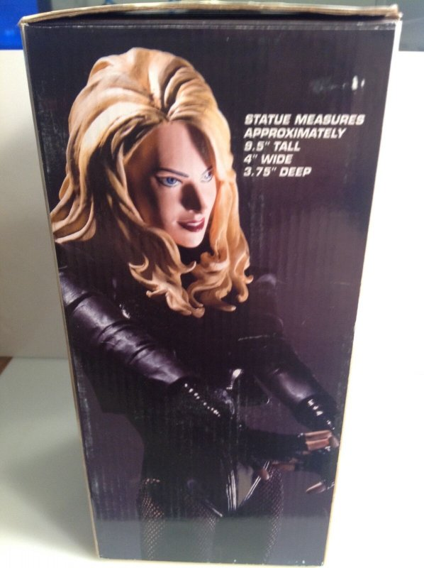 Cover Girls of the DC Universe Black Canary Adam Hughes statue #0387/5000 Direct