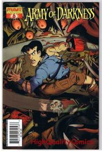 ARMY of DARKNESS #6, NM, Laguna, Chainsaw, Gun, 2005, more AOD in store