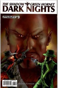 Shadow/Green Hornet: Dark Nights, The (Vol. 1) #3B VF/NM; Dynamite | save on shi
