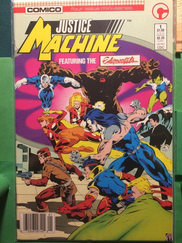 Justice Machine #1