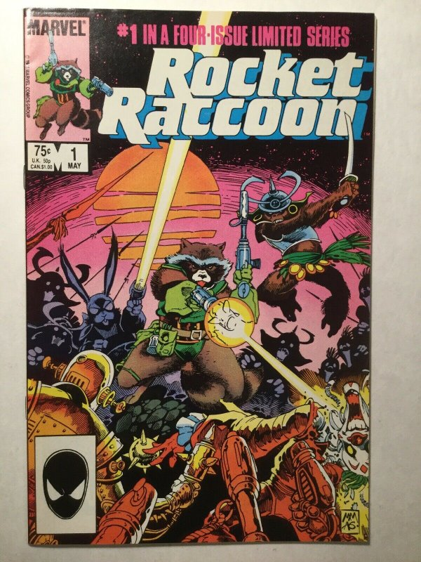 Rocket Raccoon 1 Very Fine Vf 8.0 Marvel