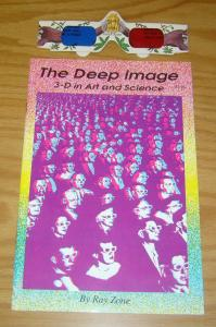 the Deep Image: 3-D in Art and Science #1 VF/NM ray zone with glasses - rare
