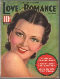 Dream World Love and Romance 12/1936-Tchetchet-spicy exploitation-FN
