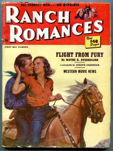 Ranch Romances 1st May 1951- Rawhide- Flight From Fury VG+