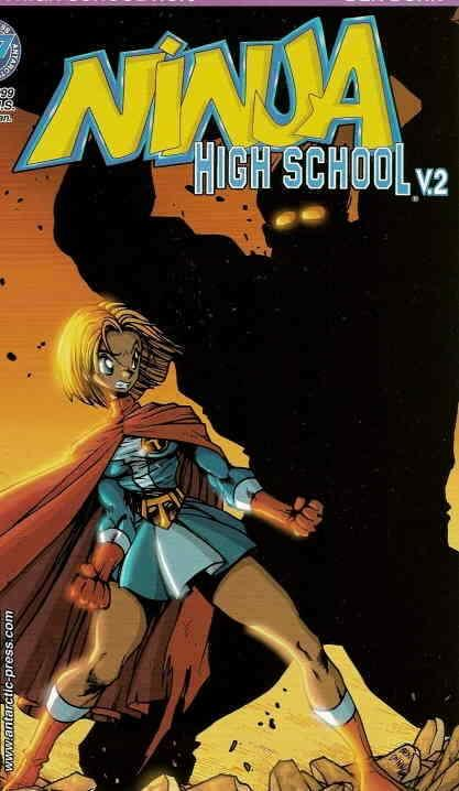 Ninja High School Version 2 #5 FN; Antarctic | save on shipping - details inside